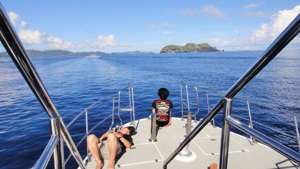 ボートダイビング 船酔い対策