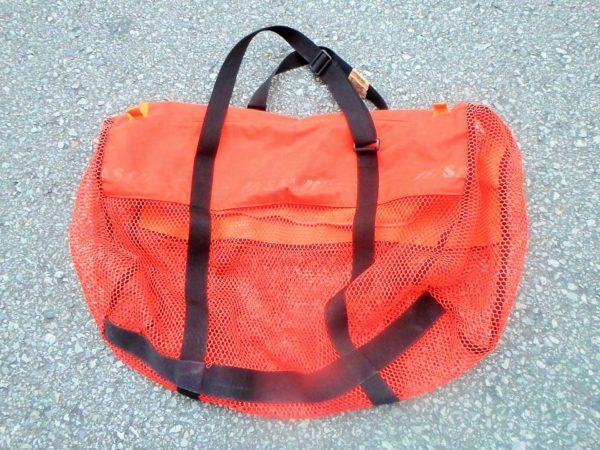 器材バッグへの片付け方