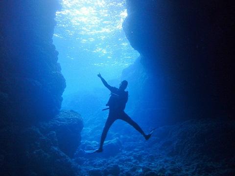 キレイな洞窟