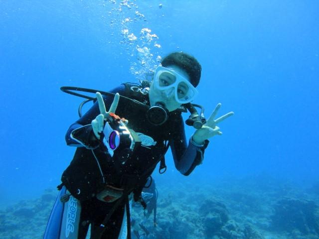 ダイビングゲストFさん