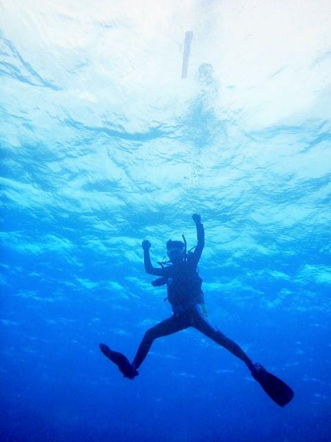 慶良間内海に封鎖されました( ̄3 ̄) ライセンス講習 | 沖縄 | ダイビング