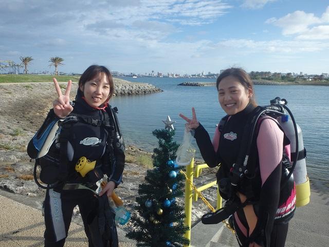 12月に入りました・・・ダイビングライセンス講習