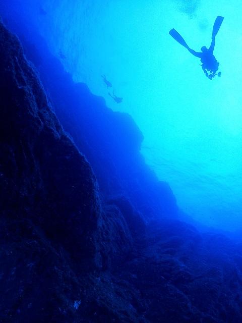 ダイビング地形