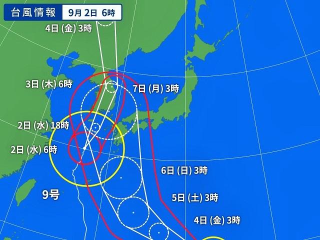 台風9号が接近していますが、、、嵐の前にダイビング