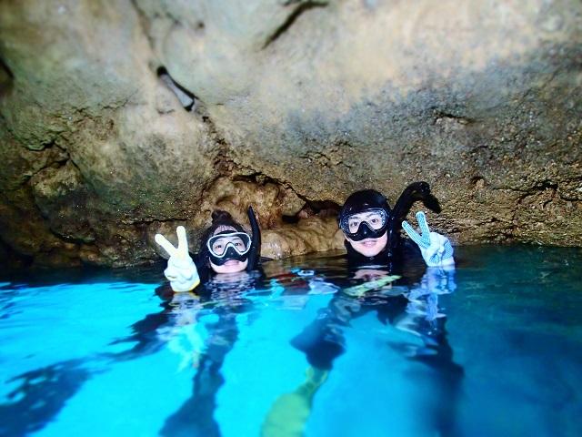 久々に恩納村ボートへ 青の洞窟など