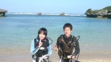ビーチダイビング