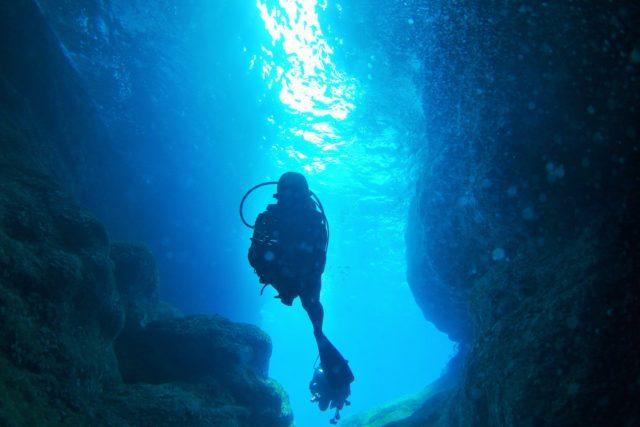 紺瀬 慶良間版青の洞窟