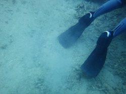砂を巻き上げるNG