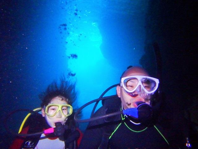 沖縄青の洞窟