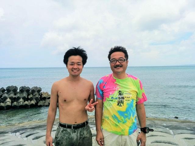 沖縄ダイビング ゲストさん2