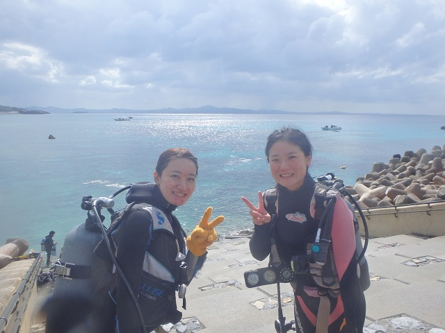 ダイビングライセンス沖縄