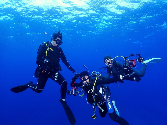 沖縄ダイビング上級者
