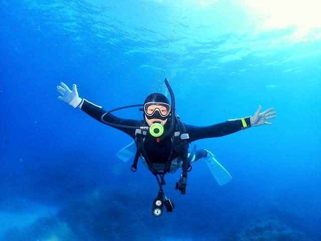 海っぽい写真を中心に~(^w^) 万座と慶良間ダイビング
